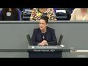 Wir brauchen wieder Mut zu Deutschland ► AfD - Nicole Höchst im Bundestag