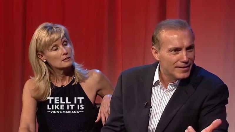 Deborah Rennard and Al Sapienza 2: TELL IT LIKE IT IS The Vinny and Mariana Show HD