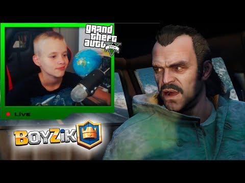 Grand Theft Auto V GTA 5 прохождение начало Часть 1 Ограбление в Людендорфе Франклин и Ламар