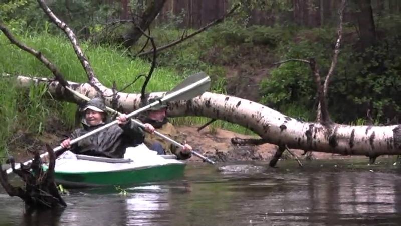 Сплав по реке Поля