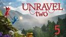 Прохождение Unravel Two 5 Идем купаться