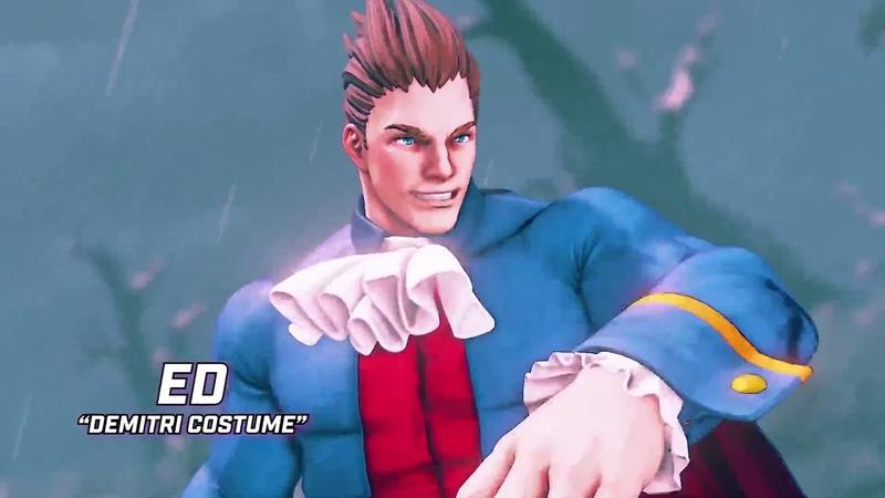 Новый Трейлер Street Fighter 5 Arcade Edition. Новинки трейлеров