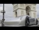 Eric Otto photographs 1 3 Porsche concept cars in Paris Behind the scenes