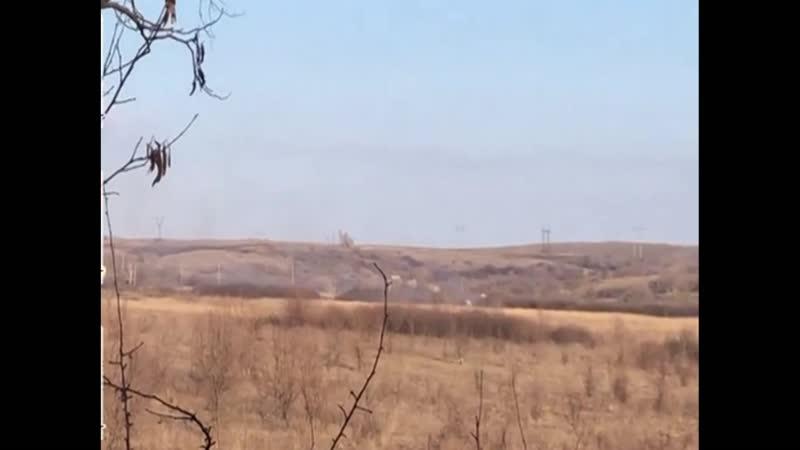 Бойцы 54 й механизированной бригады уничтожили пулеметную позицию российских оккупантов в районе Попасной в Луганской области