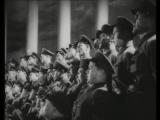 Ансамбль автора музыки гимна России Александрова 1942 год, СССР !Вставай страна огромная!