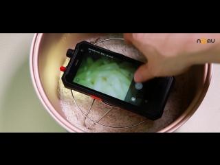 Эксперимент: мы приготовили рис со смартфоном Nomu T18