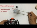 RC Homemade Remote Control Helicopter How to Setup RC Helicopter at home