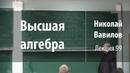 Лекция 99 | Высшая алгебра | Николай Вавилов | Лекториум