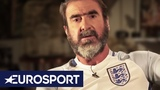 Eric Cantona Wants To Be England Manager! The Commissioner of Football Eurosport