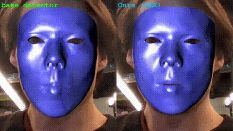Supervision-by-Registration - метод детекции лицевых лендмарок без учителя