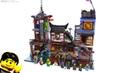 LEGO Ninjago City Docks review! 70657