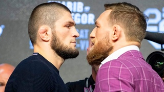 БИТВА ВЗГЛЯДОВ КОНОРА И ХАБИБА НА ПРЕСС КОНФЕРЕНЦИИ UFC 229!