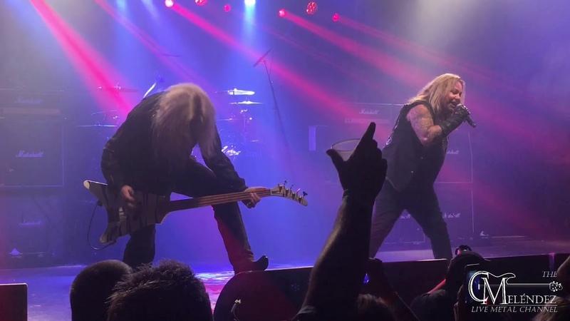 Vince Neil - Dr. Feelgood (Mötley Crüe song) - In Houston Texas - 92118
