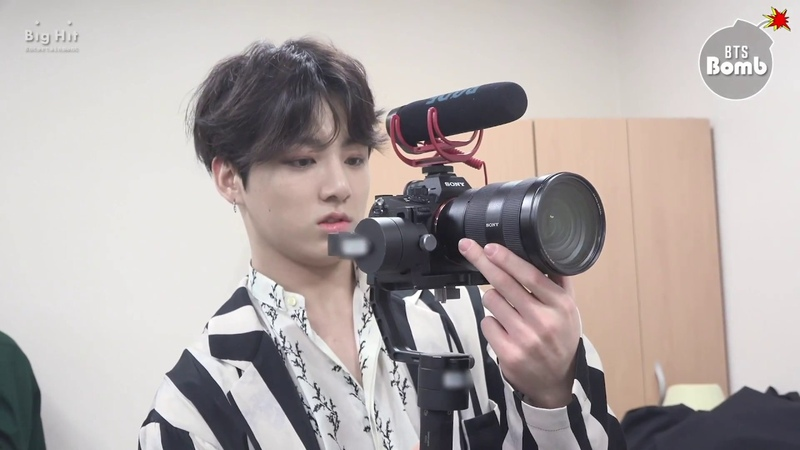[BANGTAN BOMB] JK is trying new filming stuff - BTS (방탄소년단)