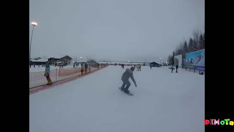 ТУУТАРИ ПАРК как мы оседлали сноуборд dimota серия 18