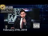 Full Show - Convicted Felon Michael Cohen Testifies For Dems Against Trump Alex Jones And Joe Rogan Reunite -02272019