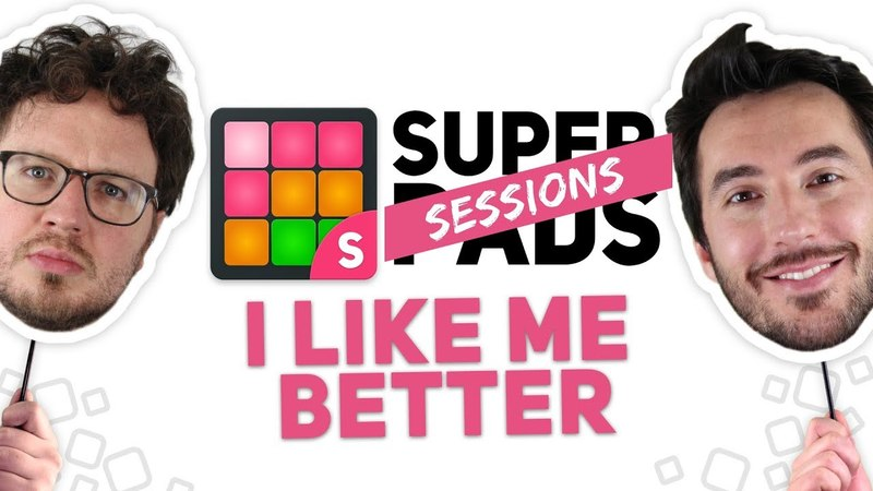 SUPER PADS SESSIONS - I LIKE ME BETTER | Lauv (cover by Marcel Lima and Tato Levicz)