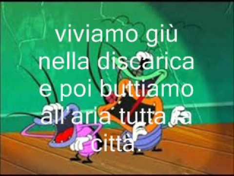 Maledetti scarafaggi - Giorgio Vanni ( Sigla completa testo )