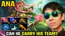 Ana with His Windranger Can He Carry His Team