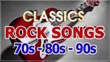 Classic Rock Songs 70's 80's 90's - U2, Scorpions, Bon Jovi, Led Zeppelin, Aerosmith, The Police