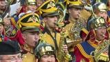 VII Международный военно-музыкальный фестиваль Амурские волны-2018 Дефиле представление