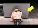 როდესაც ქუჩაში გოგონა მათხოვრობდა, მასთა 4316
