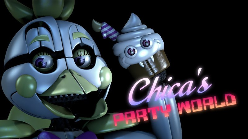 [SFM FNAF] Chica's Party World Fangame Announcement Trailer (Join Us For A Bite Music Video)