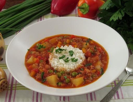 Пикадильо - мексиканское рагу из фарша и овощей