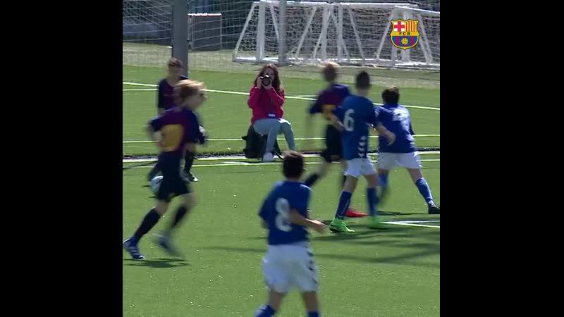 Bona victòria de l'Infantil B contra la Rapitenca, per 5-0, amb gols d'Iván 3, Pol Montesinos i Arnau Pradas Buena victoria del