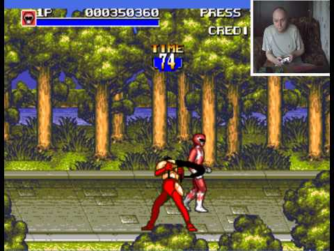 Sega Mega Drive 2 Mighty Morphin Power Rangers Могучие Рейнджеры Вячеслав