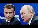 Mакpон переводит стрелки на Путина