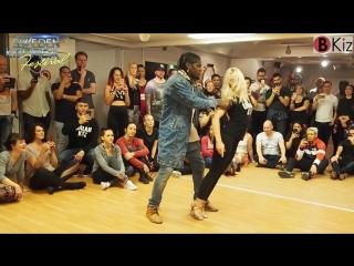 ENAH & CAROLINA - Urban Kiz in SWEDEN KIZOMBA FESTIVAL 2018