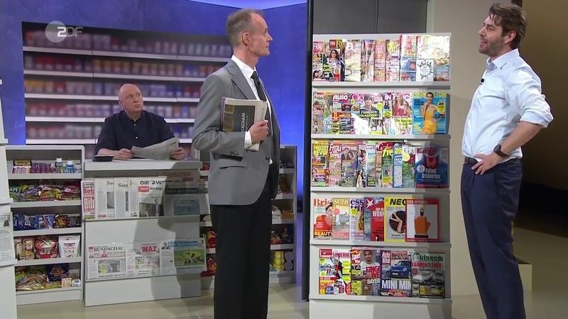 Der bunte Kiosk der Presselandschaft - Die Anstalt vom 22. Mai 2018 | ZDF