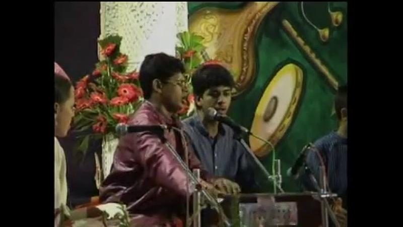 2003 1226 Evening Program Part 1 At Christmas Puja Ganapatipule India