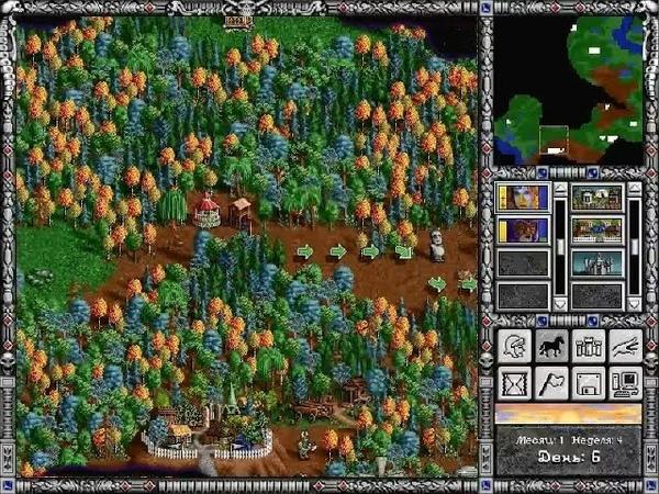 Взгляд в прошлое Выпуск 46 Heroes of Might and Magic II Вызов брошен 18