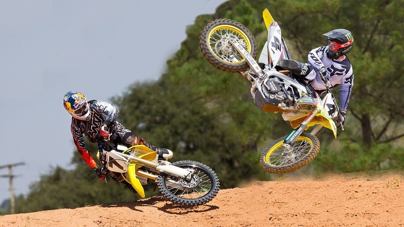 James Stewart and Ricky Carmichael's Scrubs and Whips 2011