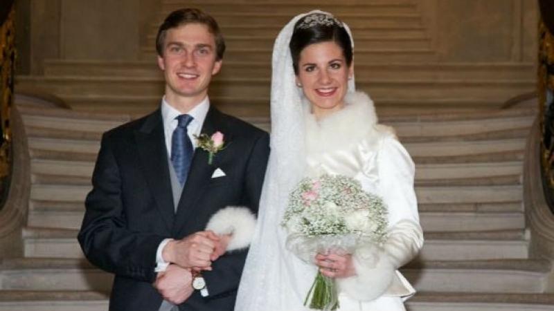 Свадьба Эрцгерцога Австрии Кристофа и Аделаиды Драпе-Фриш, 29 декабря 2012 г.