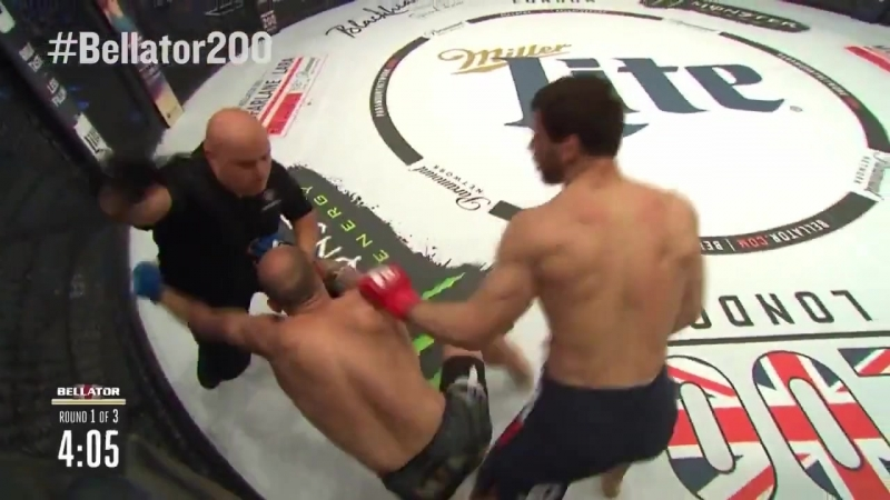 Bellator200 Anatoly Tokov def. Vladimir Filipovic via submission