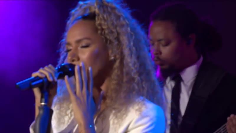 Leona Lewis Bleeding Love live in Germany on 11th June 2018 CEBIT 2018