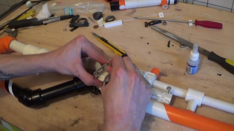 Самодельная пневматика из пластиковых труб Часть 3