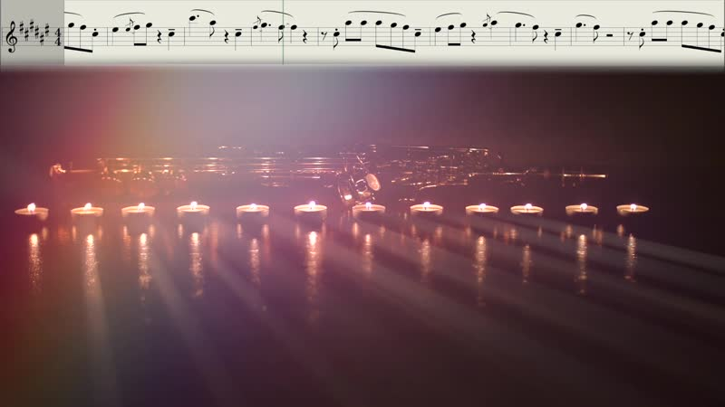 Syntheticsax - Christmas Dream (Ноты для саксофона сопрано)