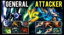 General Terrorblade vs Attacker Double Rapier Kunkka Intense Right Click Battle