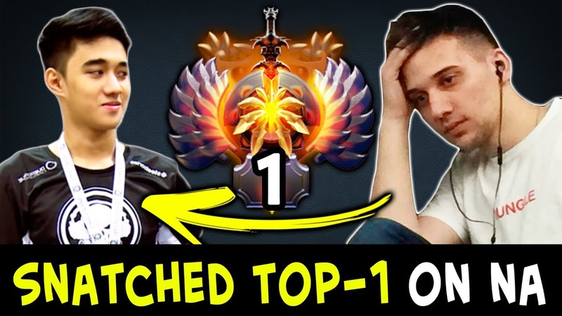 Snatched TOP-1 from Arteezy — Abed on NA server