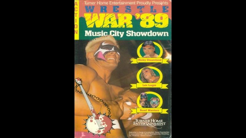 07 05 1989 WrestleWar 1989 Music City Showdown HD