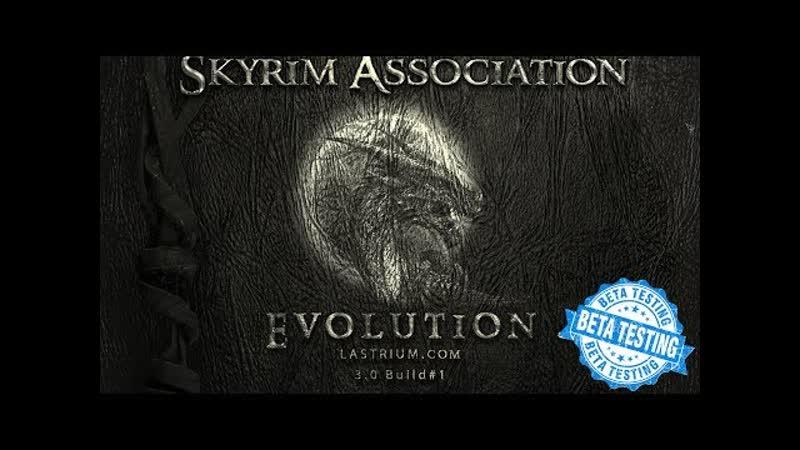 The elder scrolls v skyrim association evolution 3 0