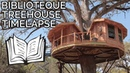 Timelapse: Library Treehouse in Texas Hill Country