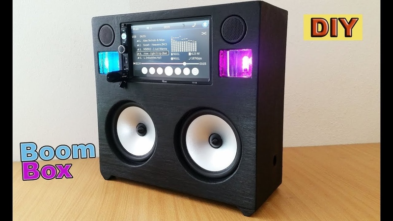 DIY: Portable Boombox Loud System