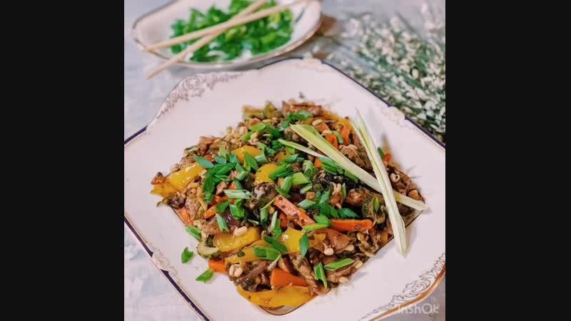 Мясо в Азиатском стиле