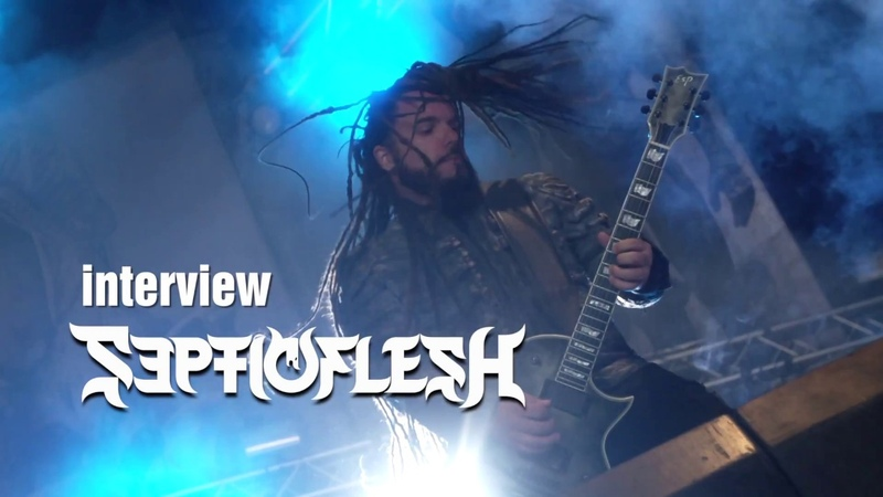Interview with Christos at Hellfest 2018