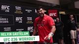 UFC 236 Open Workouts Kelvin Gastelum Hits The Pads in Atlanta, Georgia